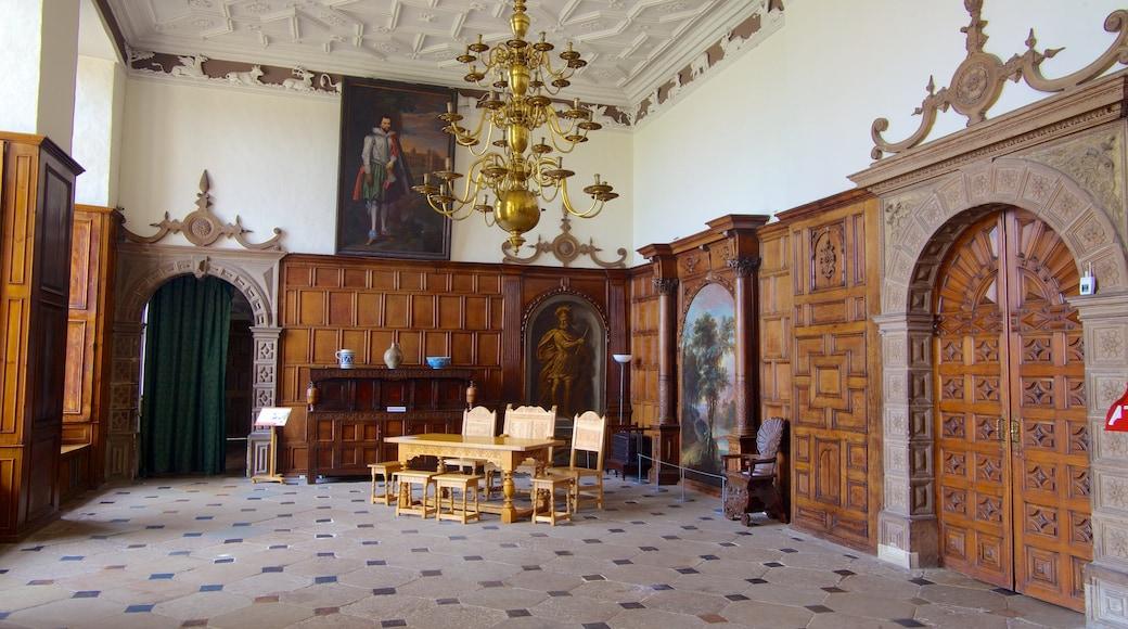 Aston Hall das einen historische Architektur und Innenansichten