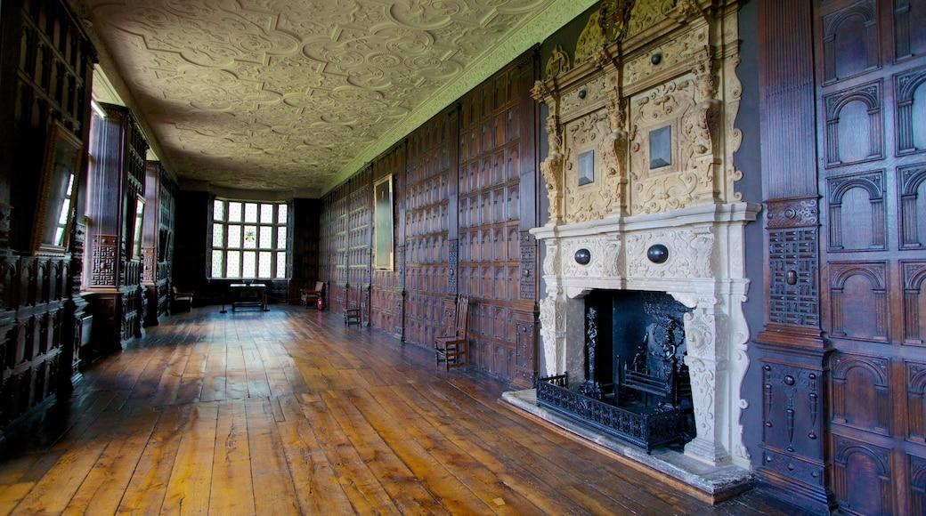 Aston Hall welches beinhaltet historische Architektur und Innenansichten