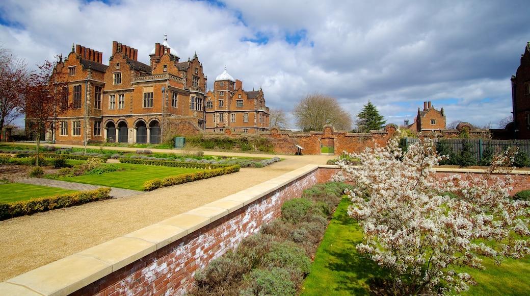 Aston Hall welches beinhaltet historische Architektur