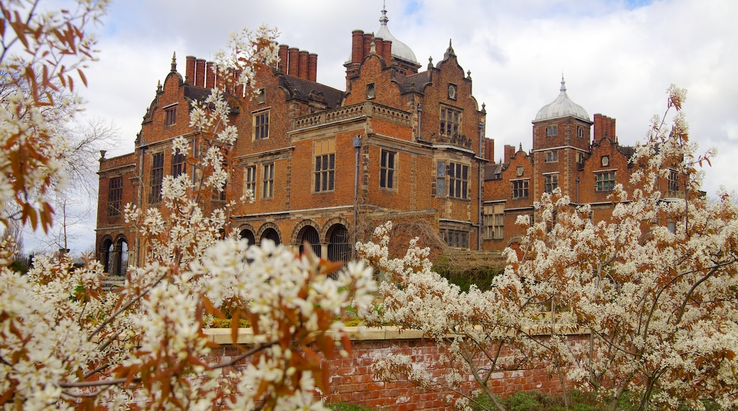 Aston Hall mit einem Palast oder Schloss und historische Architektur