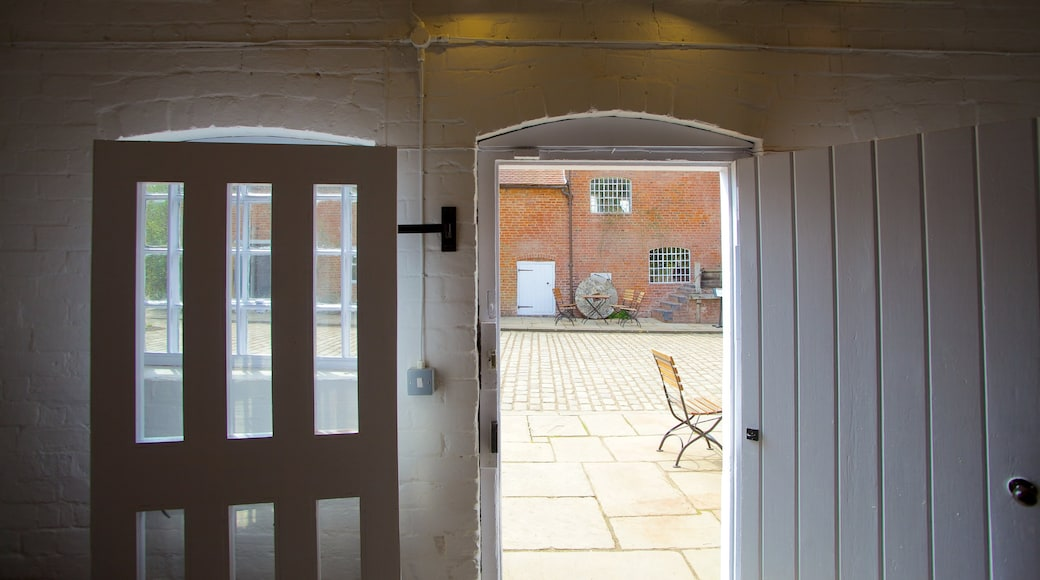 Sarehole Mill featuring interior views and a house