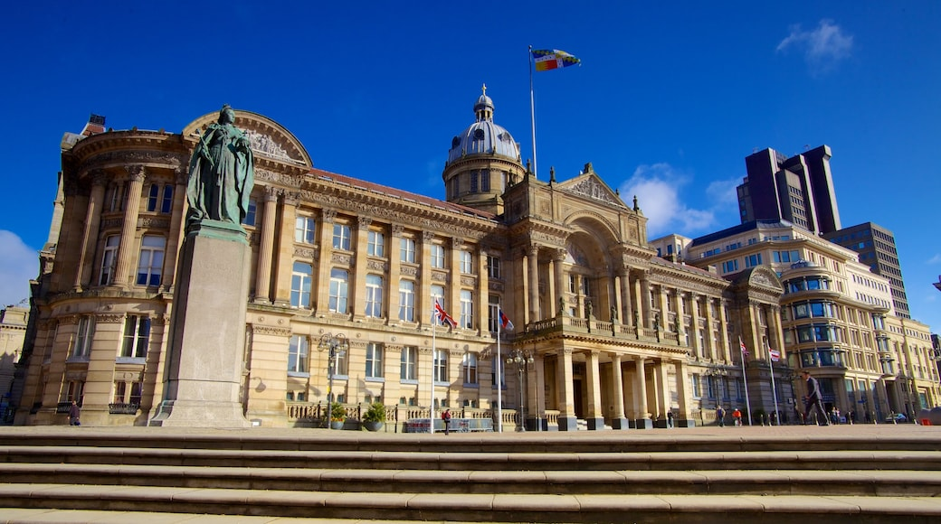 Victoria Square som viser torg eller plass, by og historisk arkitektur