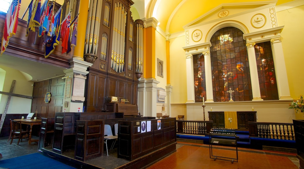 St. Paul\\\'s Church which includes a church or cathedral, heritage architecture and interior views