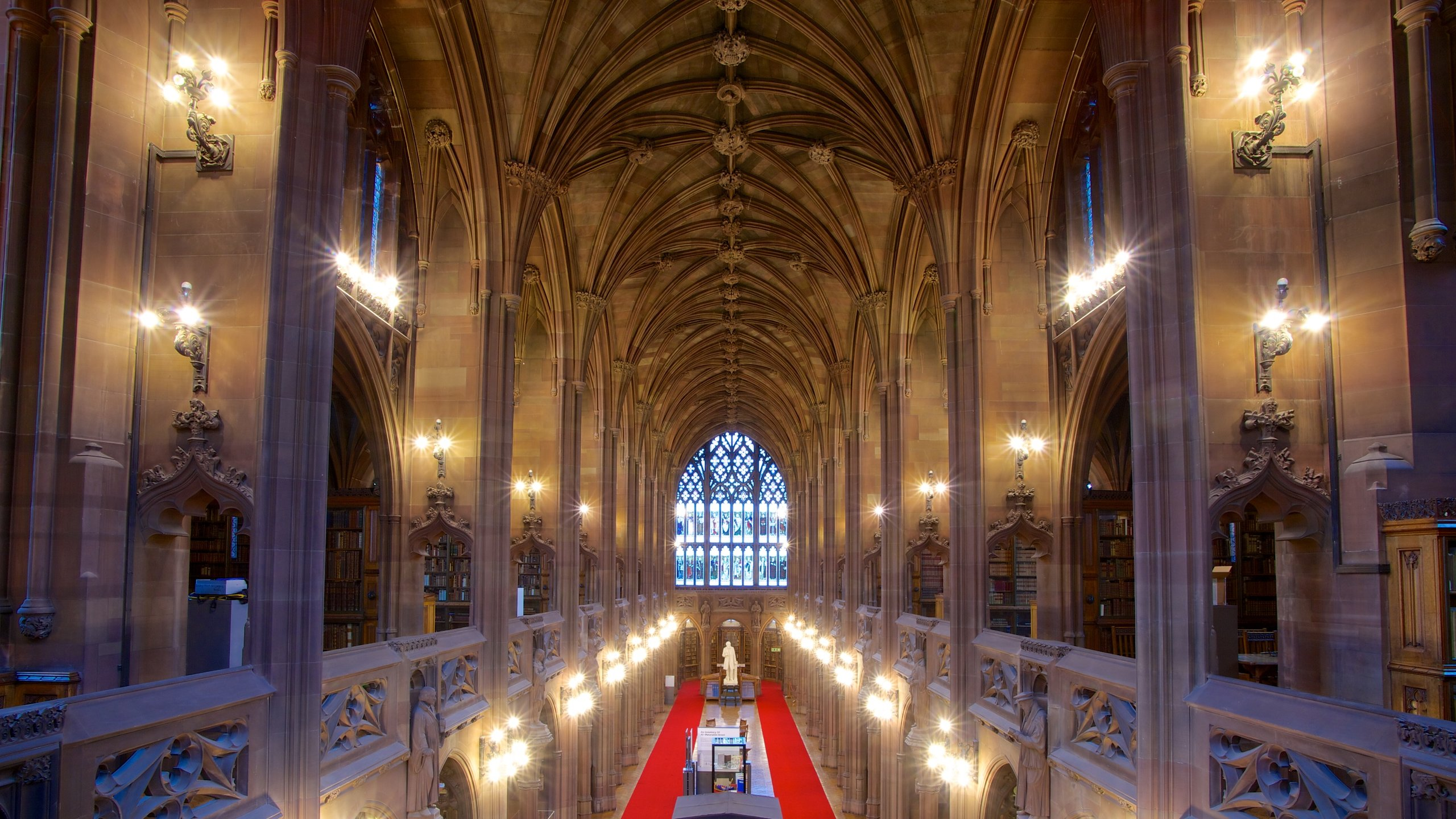 John Rylands University Library, Manchester, Inglaterra, Reino Unido