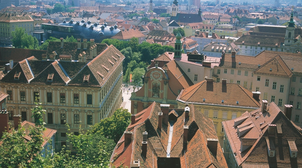 Graz which includes a city