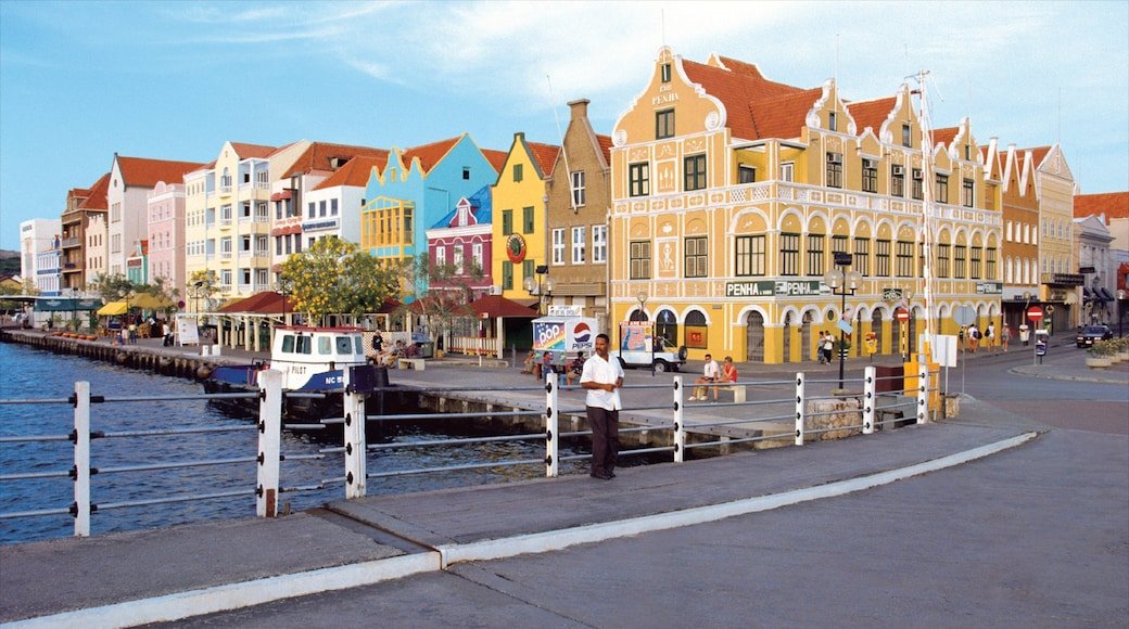 Willemstad featuring a house, heritage architecture and street scenes