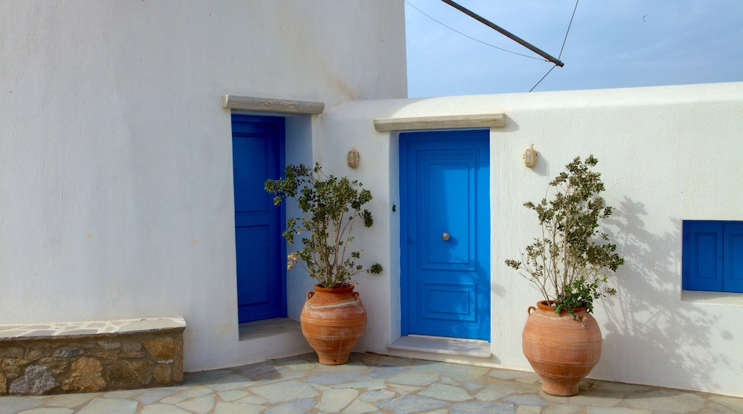 Windmills of Mykonos which includes heritage architecture