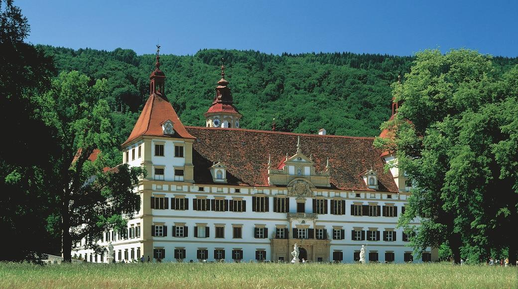 Schloss Eggenberg das einen Burg und historische Architektur