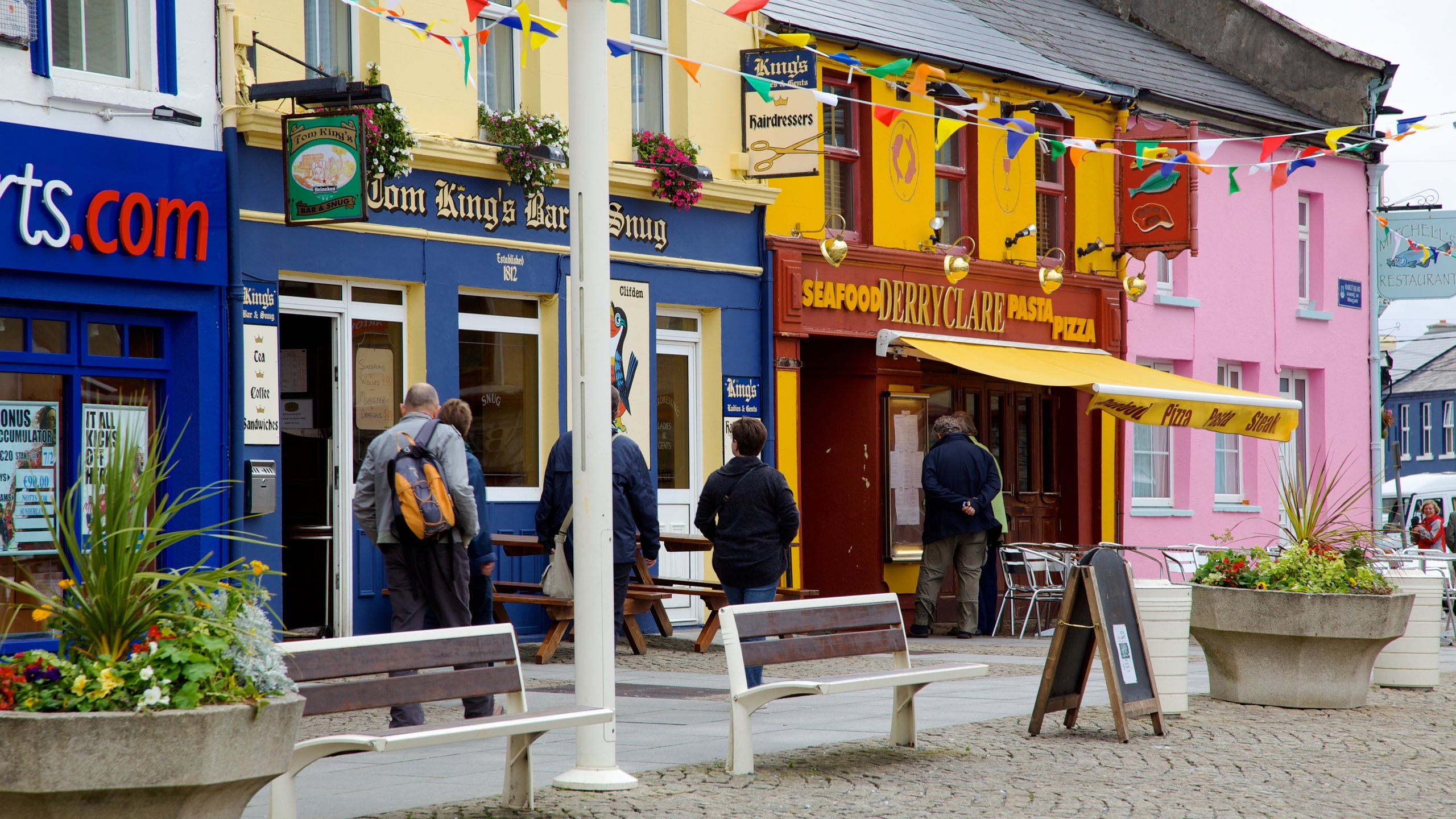 The Central Bar on Main Street (Clifden) - 2020 All You - Tripadvisor