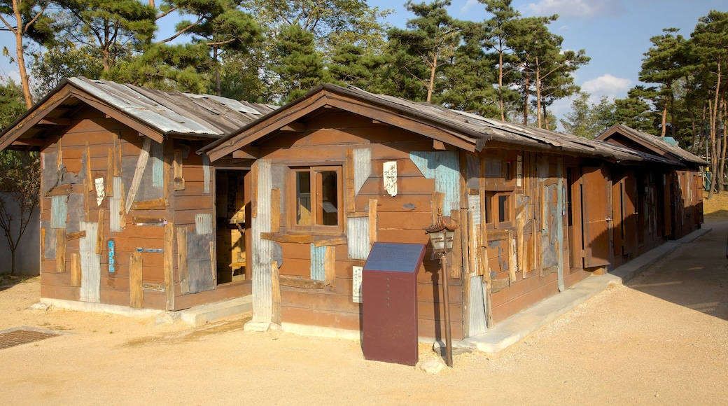 Sokcho which includes heritage architecture