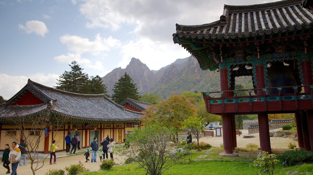 Sinheungsa Temple which includes religious elements and a temple or place of worship