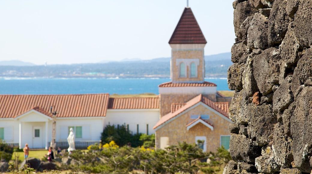 濟州島 设有 小鎮或村莊, 海邊城市 和 花園