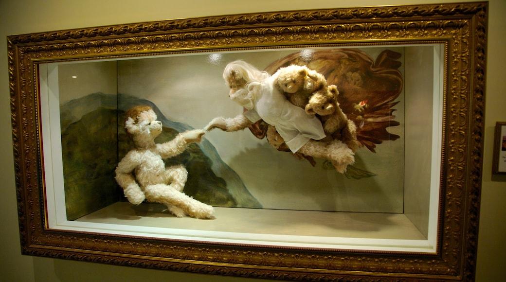 Museo de Osos de Peluche de Jeju que incluye vistas de interior