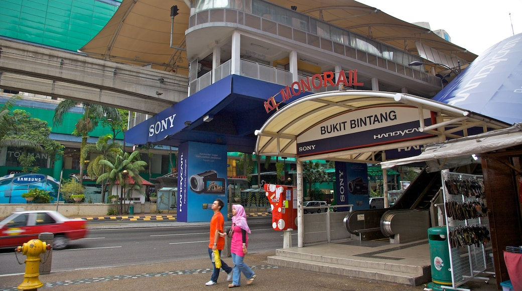 Bukit Bintang Plaza which includes a city and street scenes as well as a couple
