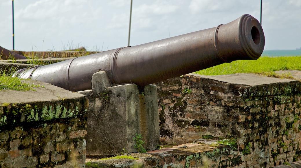 高恩沃利斯要塞 呈现出 歷史建築 和 軍事收藏品