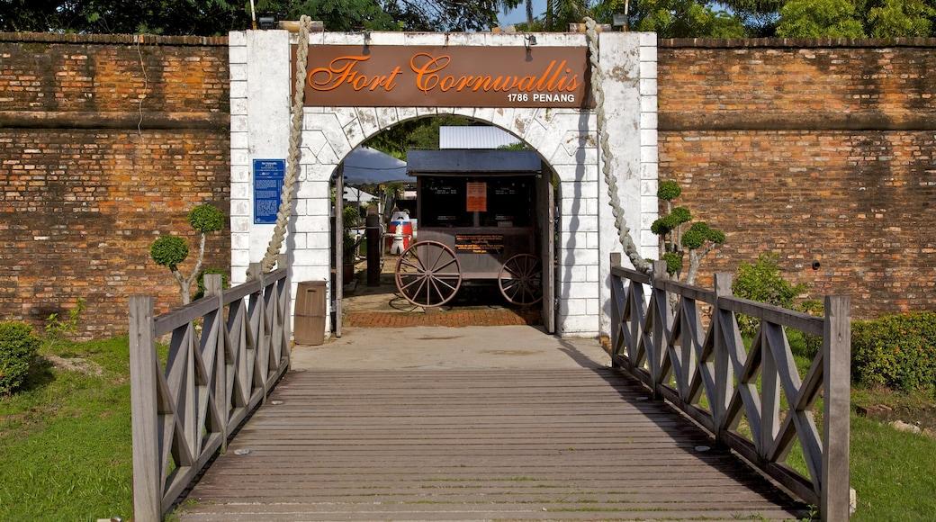 高恩沃利斯要塞 设有 歷史建築