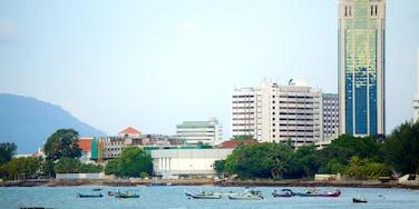 喬治市 其中包括 海邊城市, 核心商業區 和 划船