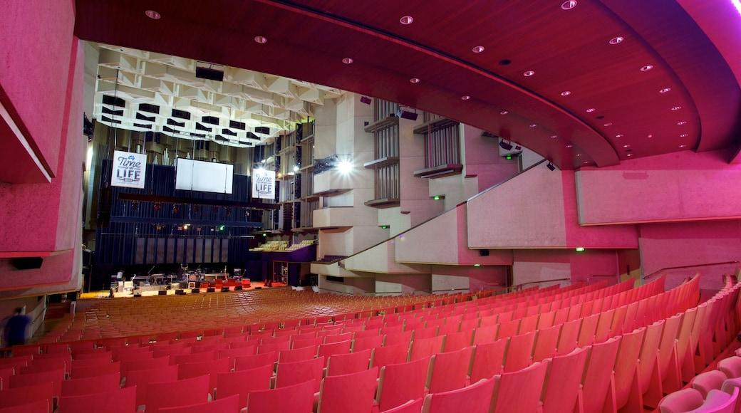 Queensland Performing Arts Centre showing interior views and theatre scenes