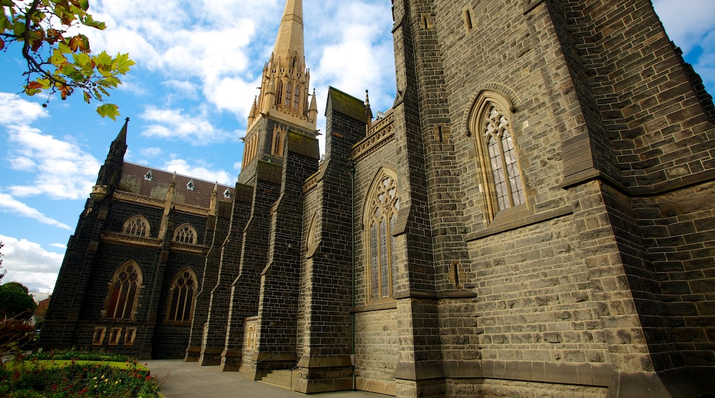 St Patrick\'s Cathedral showing religious elements and a church or cathedral