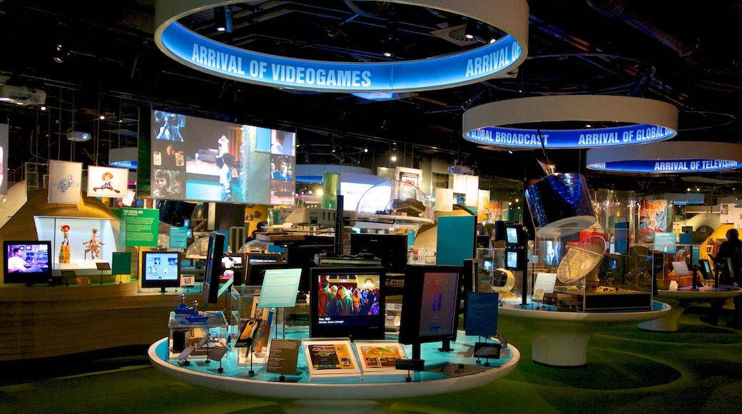 澳洲動態影像中心 呈现出 內部景觀