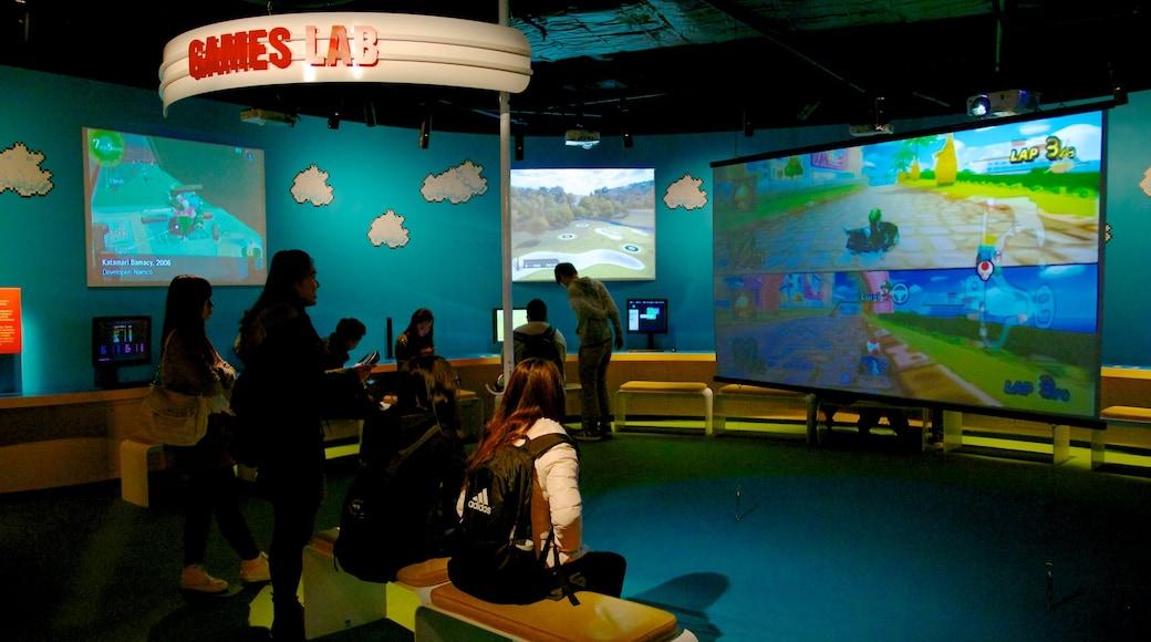 澳洲動態影像中心 其中包括 內部景觀 和 藝術