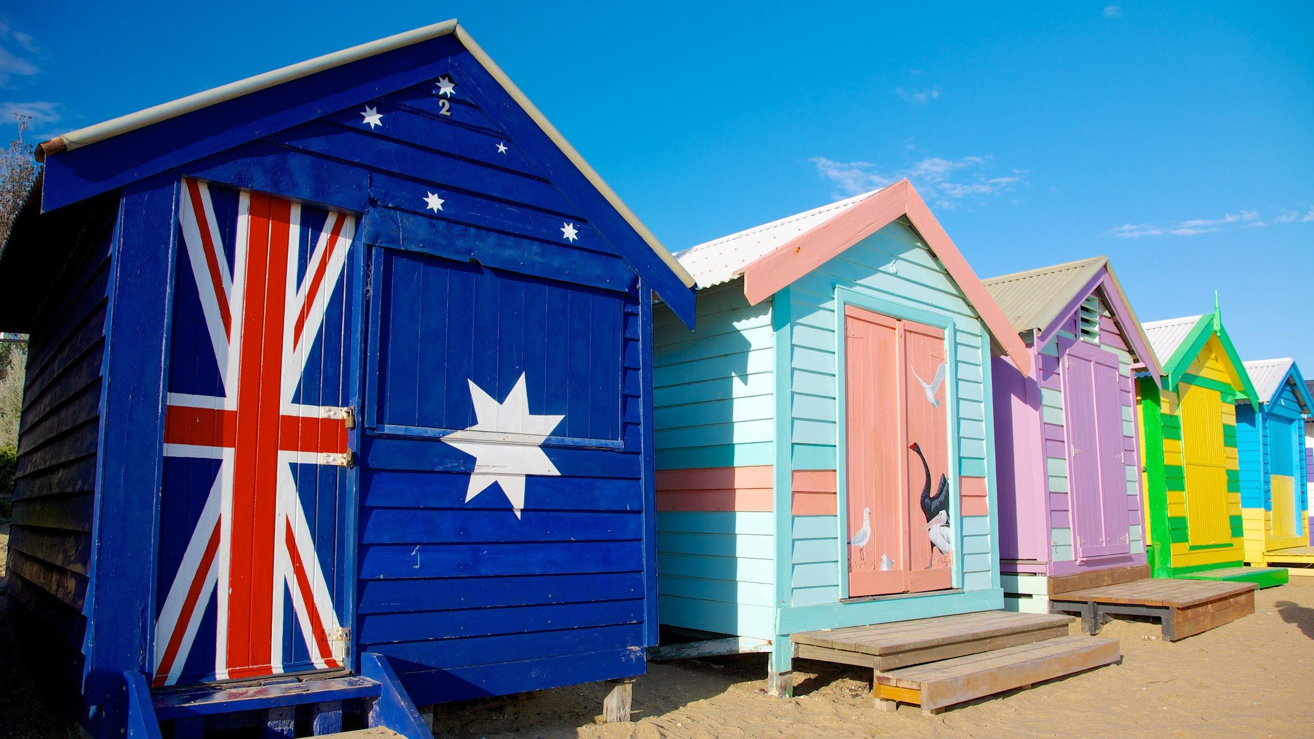 平靜的海水、色彩繽紛的小屋還有具歷史的海水浴,讓這個輕鬆而有風格的郊區海灘成為逃離墨爾本市中心煩囂生活的好去處。