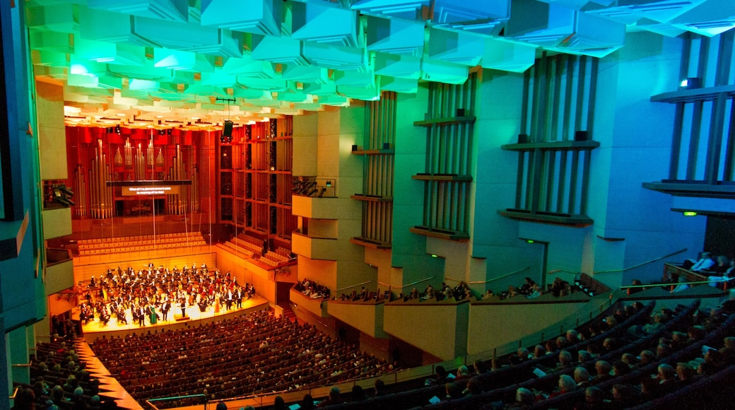 Queensland Performing Arts Centre which includes interior views, theatre scenes and performance art