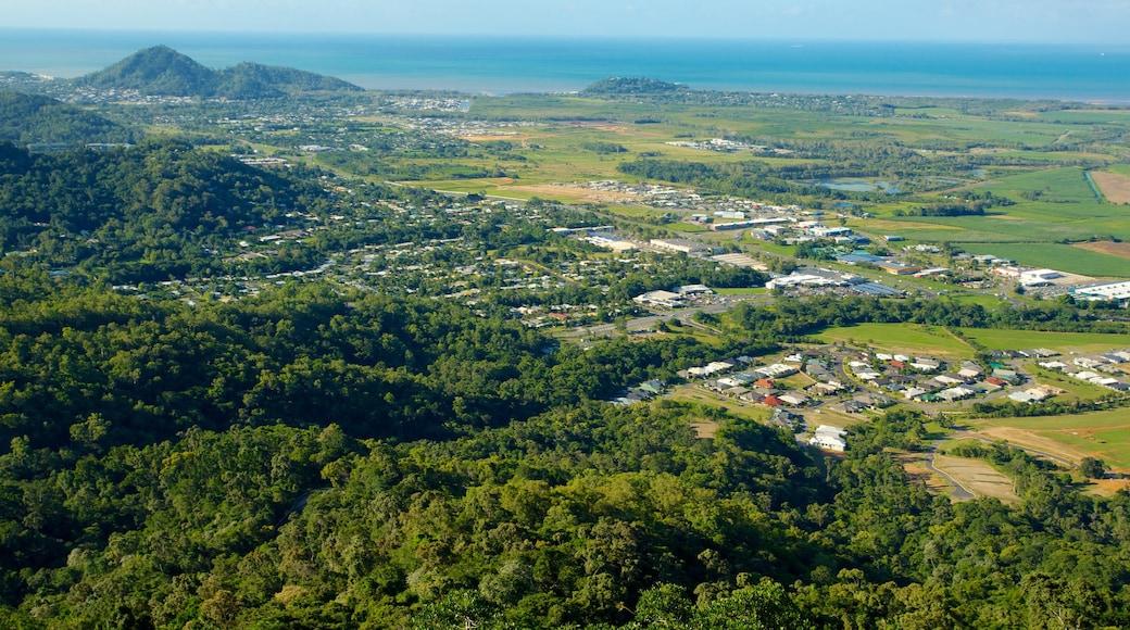 Skyrail Rainforest Cableway featuring landscape views and rainforest