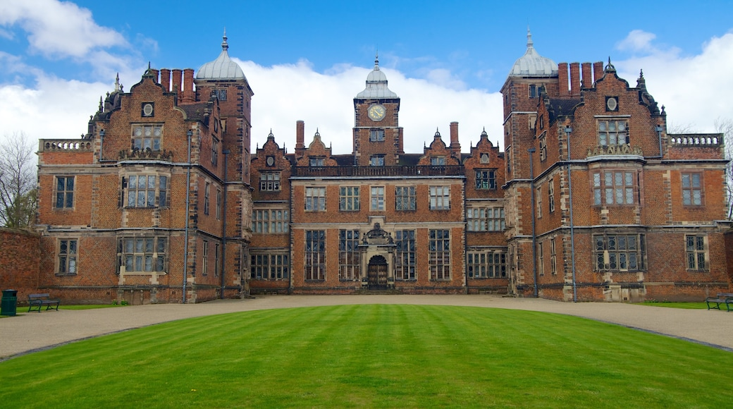 Aston Hall featuring heritage architecture and château or palace