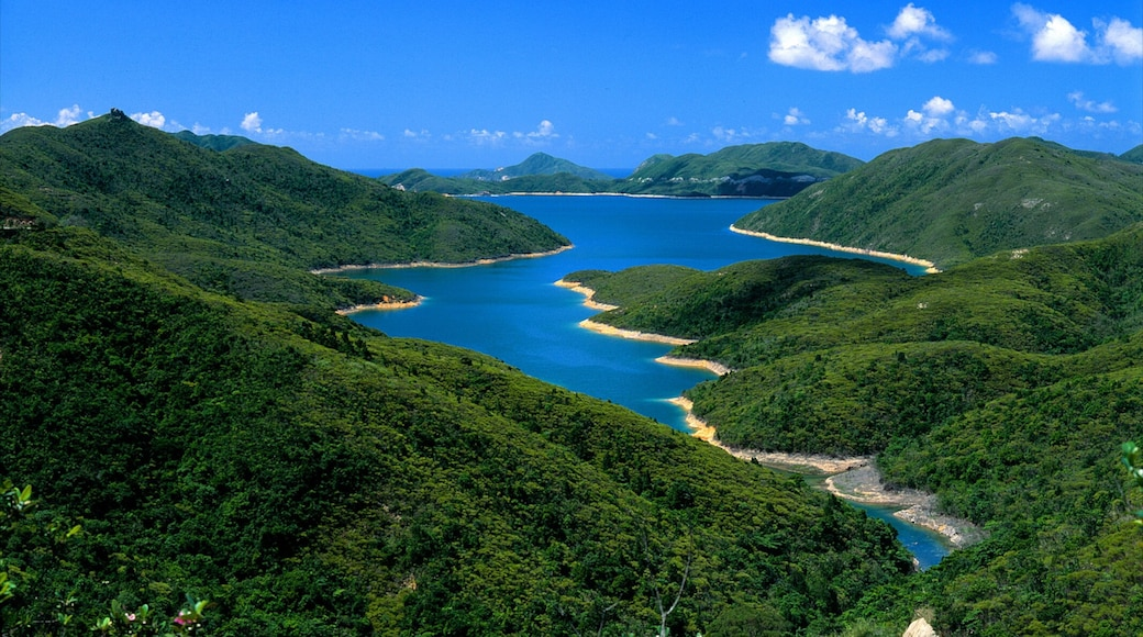 Sai Kung featuring tranquil scenes, landscape views and mountains
