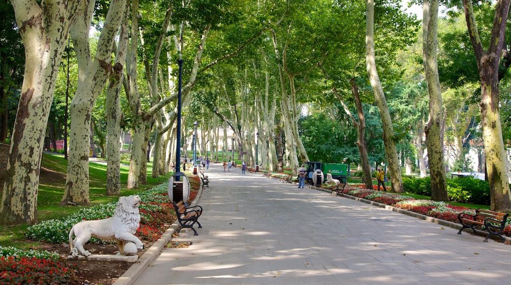 Gulhane Park mostrando um parque