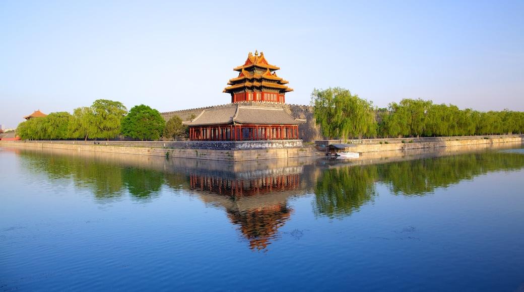 紫禁城 其中包括 河流或小溪, 湖泊或水池 和 歷史建築