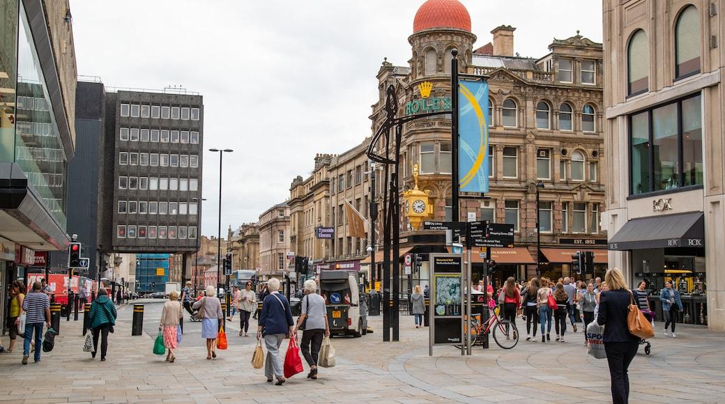 Centre-ville de Newcastle