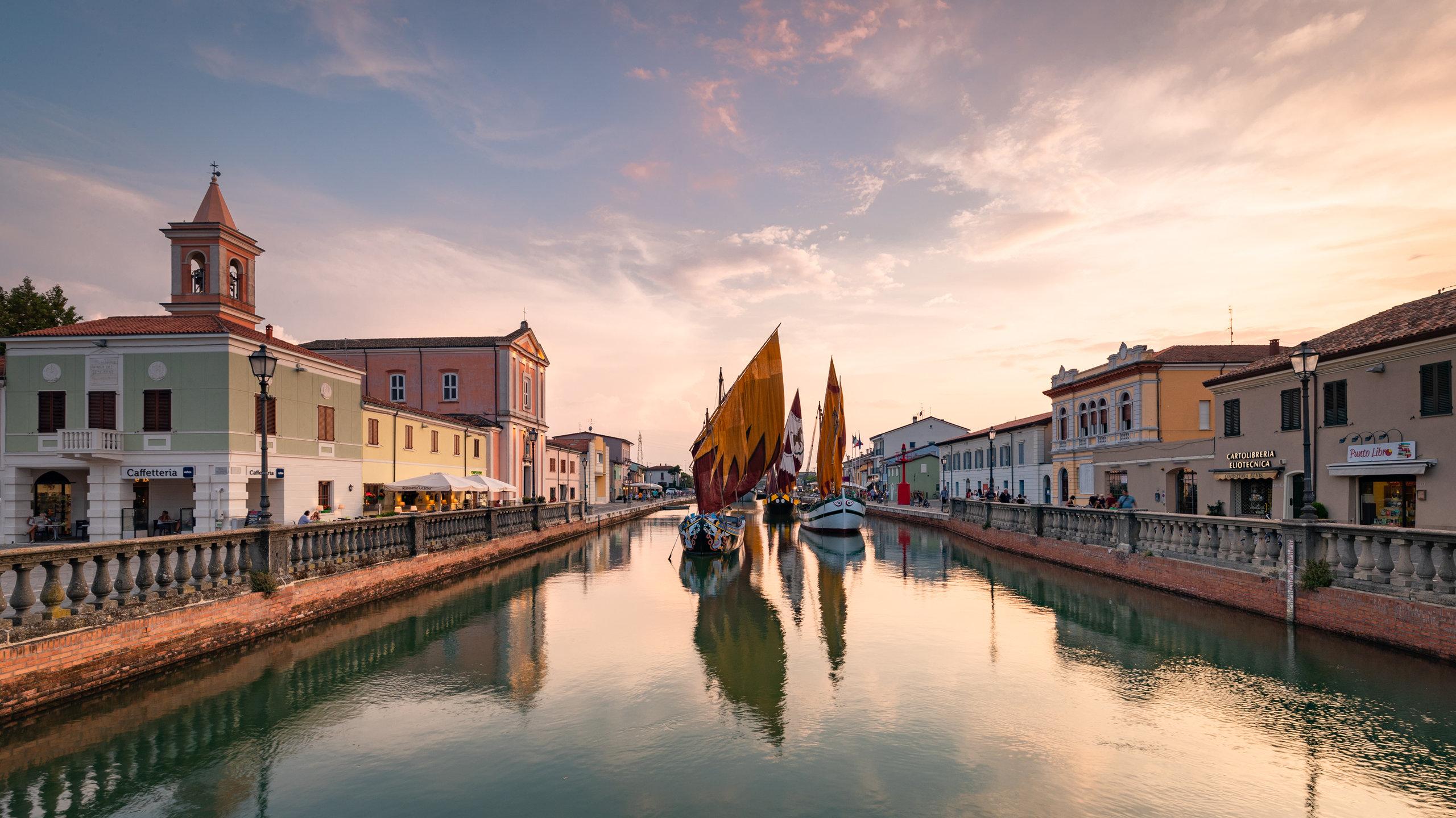 Cesenatico, Emilia-Romagna, Italien