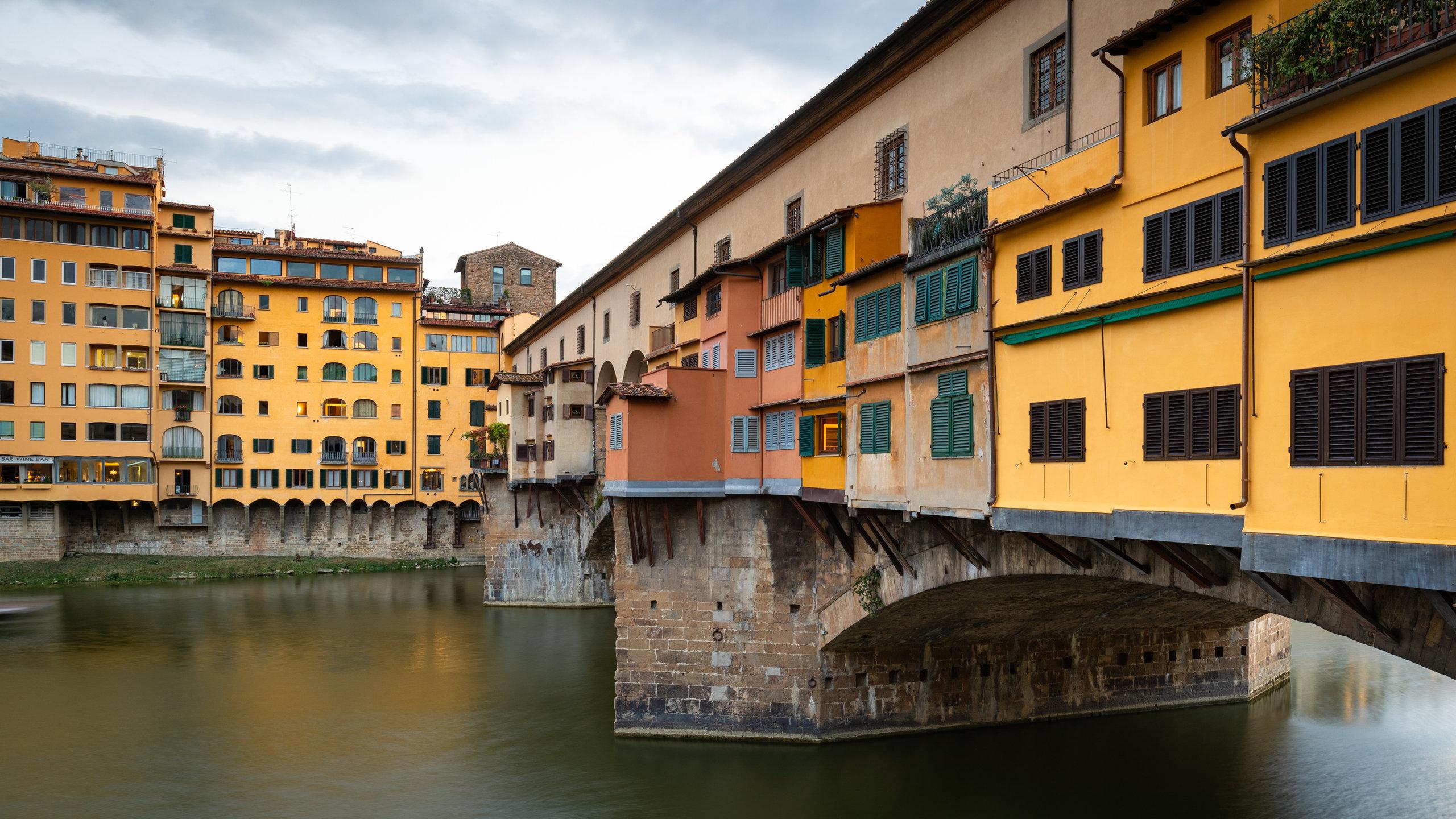 Lokalhistorien til Firenze vil du kunne utforske hvis du setter av litt tid til Det historiske bysentrum. Området har elveutsikt og kunst du bør oppleve.