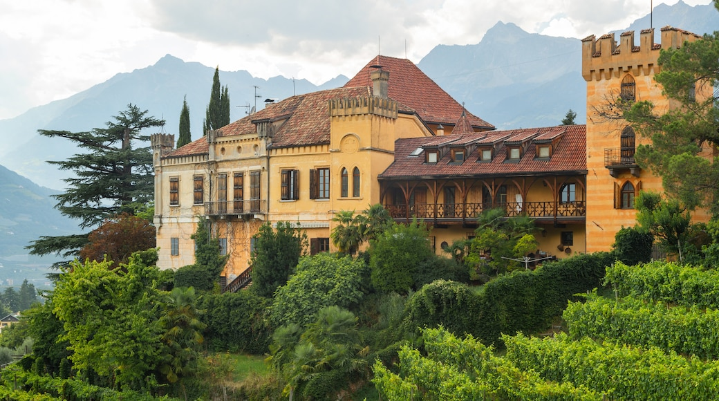 South Tyrol featuring a castle and heritage architecture