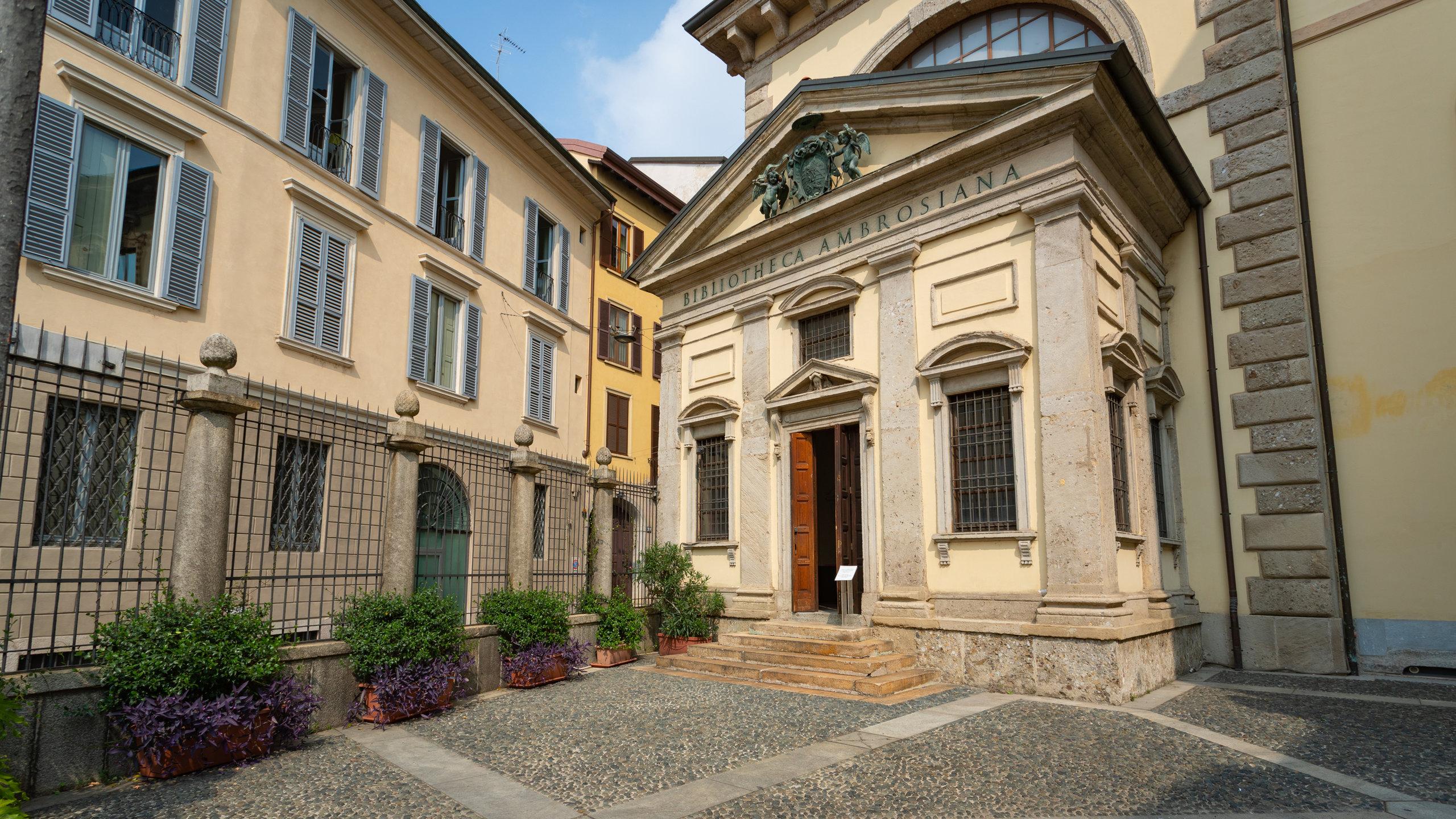 Biblioteca Ambrosiana, Mailand, Lombardei, Italien
