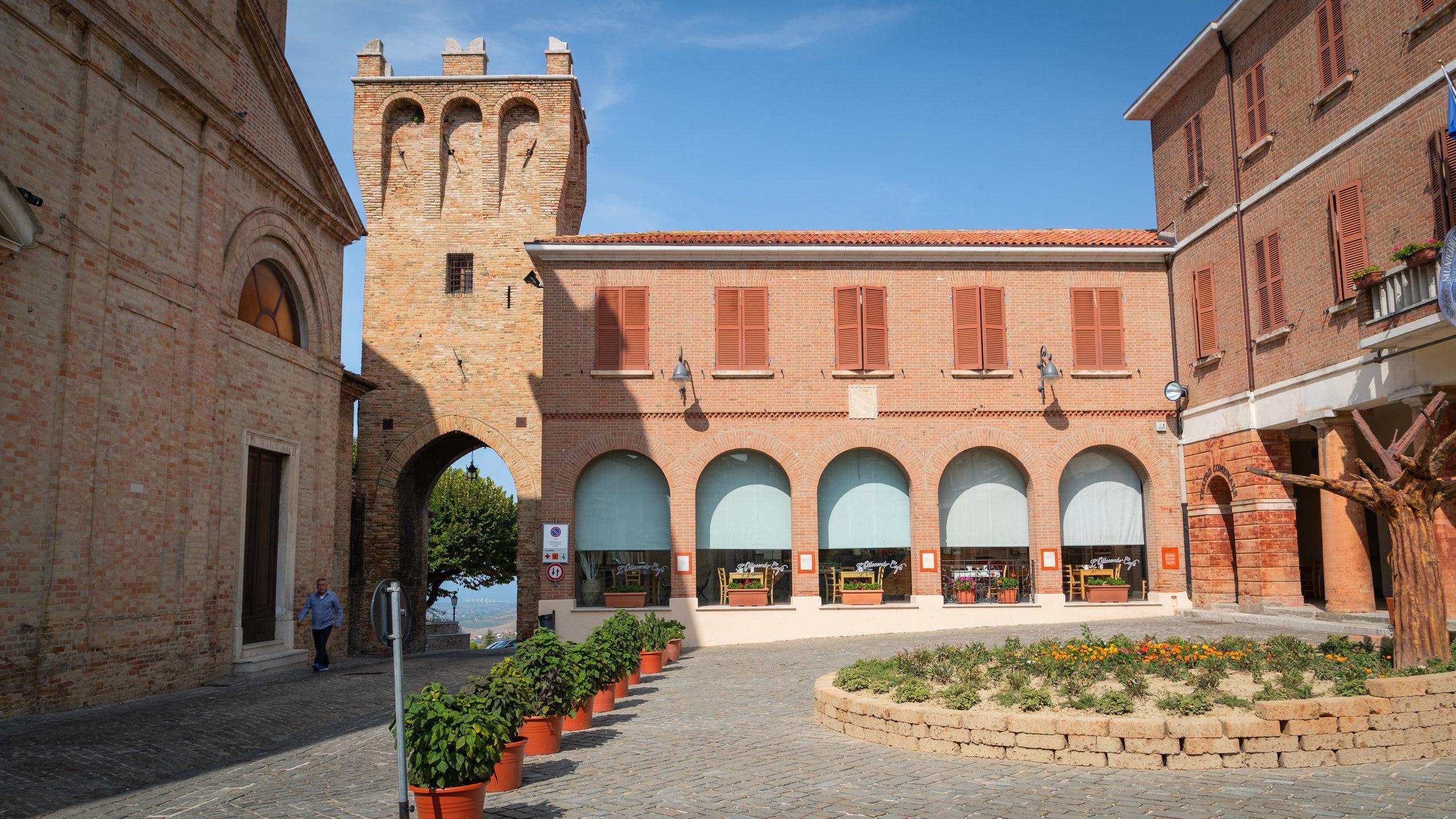 Saludecio, Emilia-Romagna, Italië