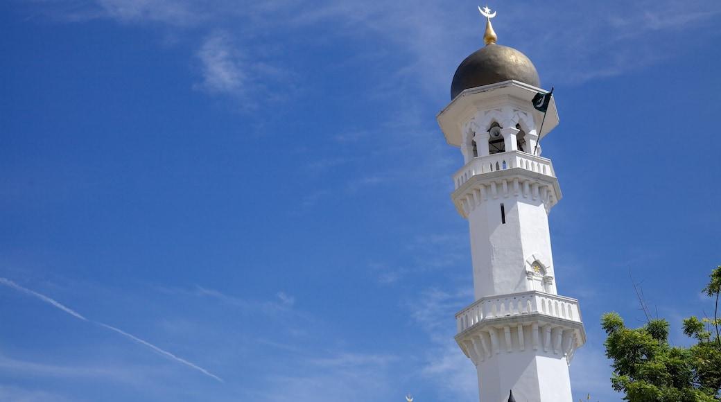 吉寧甲必丹回教堂 呈现出 清真寺