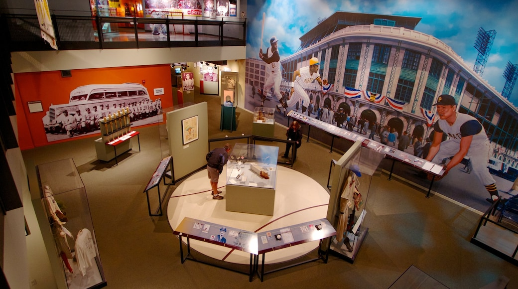 Senator John Heinz History Center which includes interior views