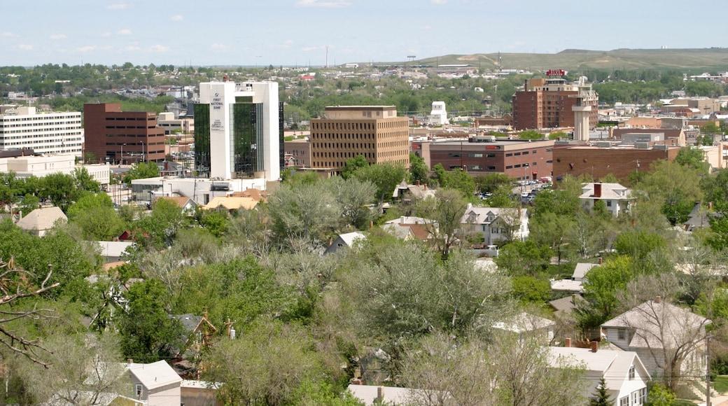 Rapid City showing a city and landscape views