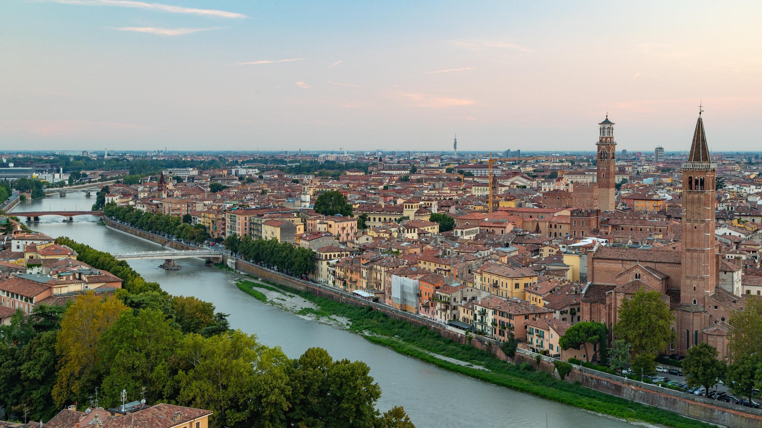 Centro di Verona, Verona, Veneto, Italia