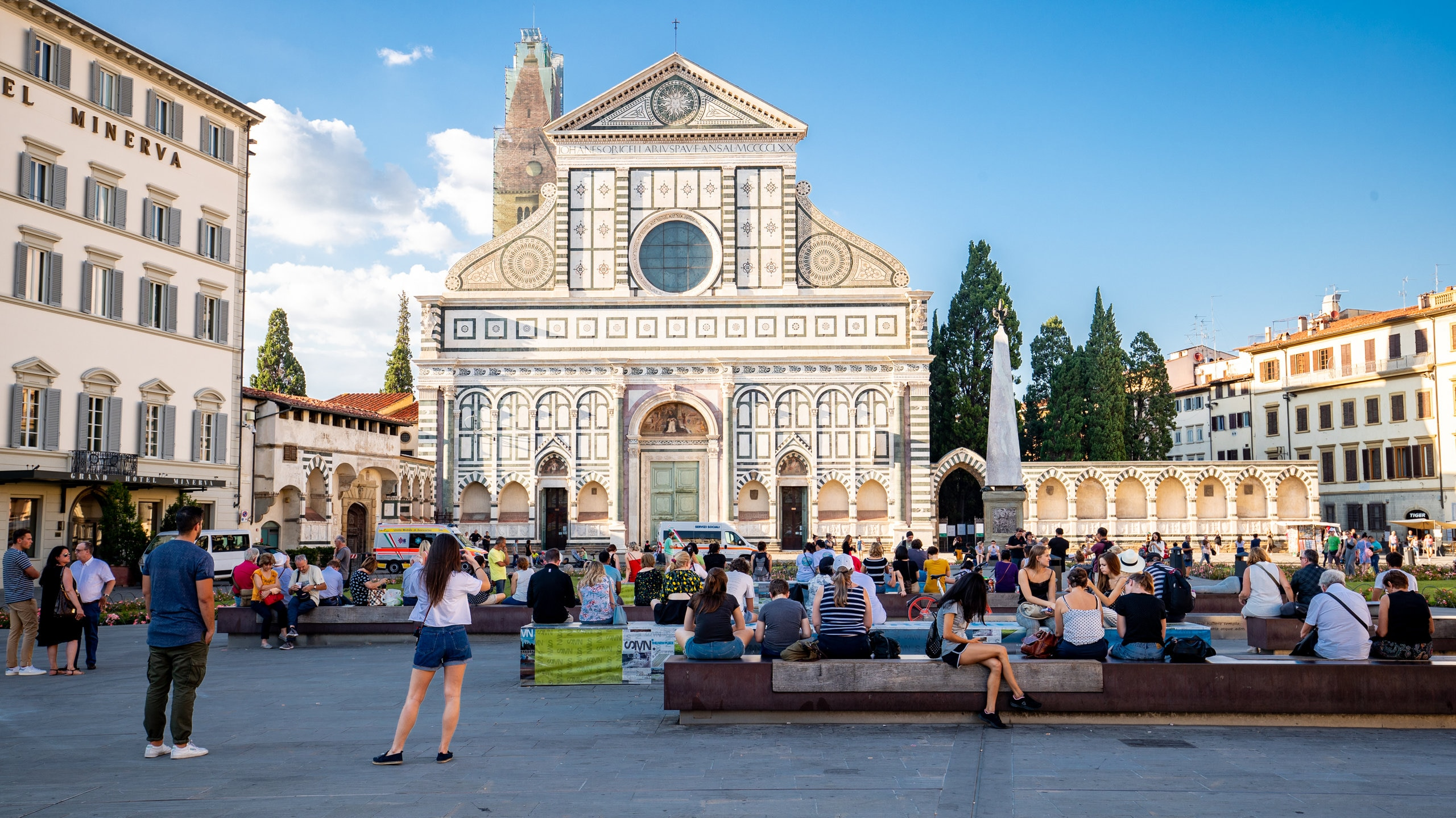 Santa Maria Novella, Florence, Toscane, Italië