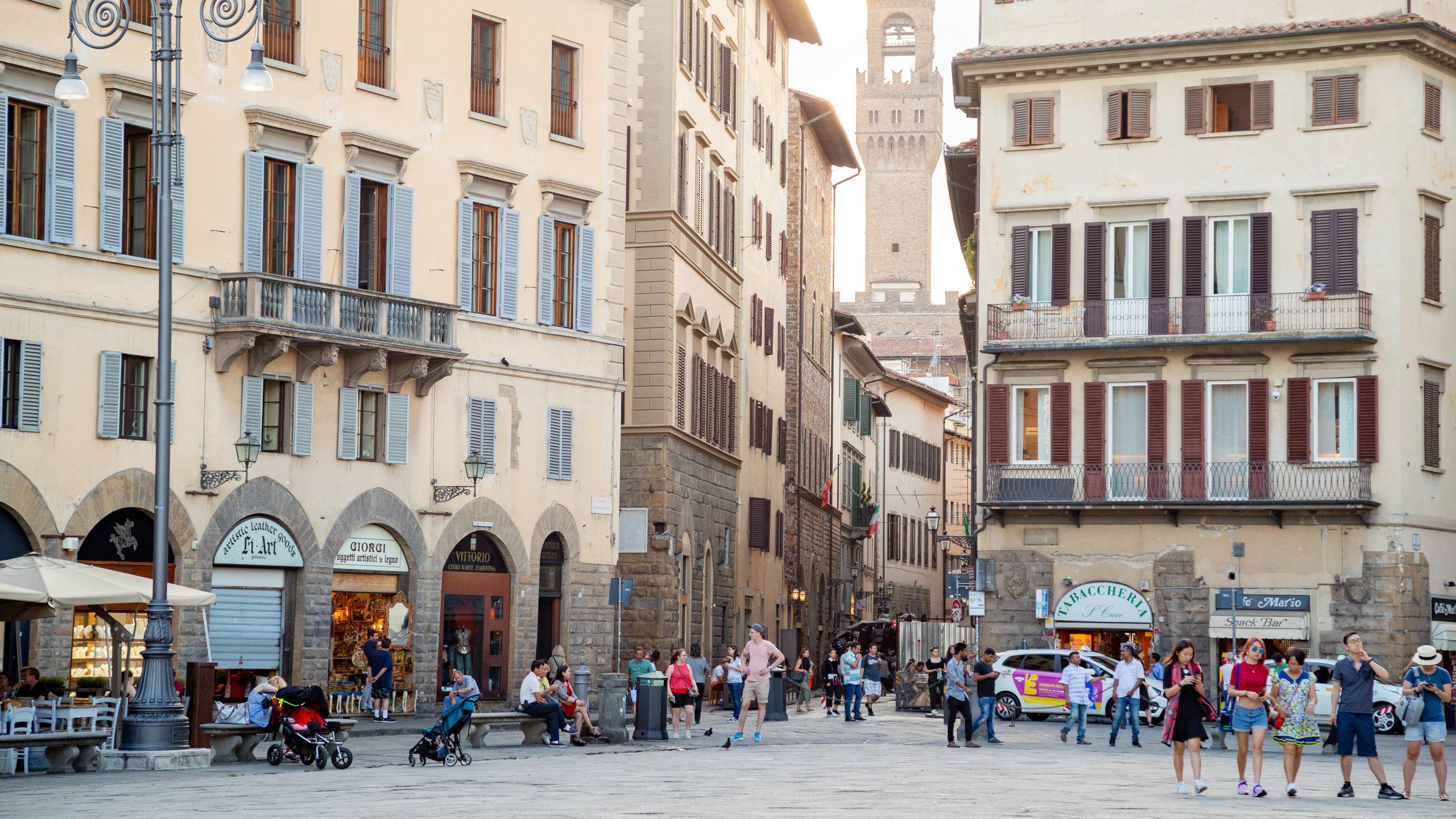 Santa Croce, Florenz, Toskana, Italien