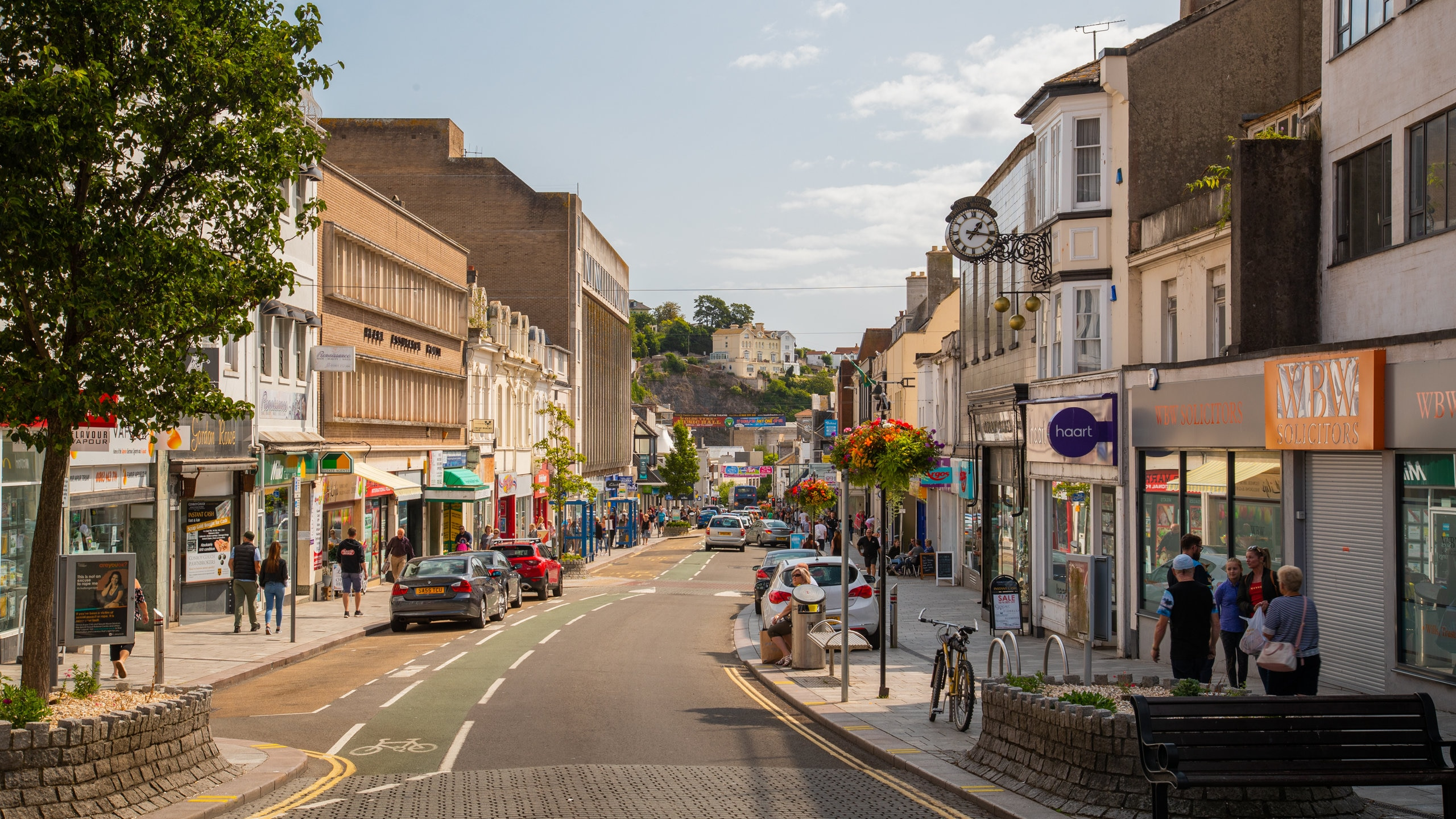 Torquay City Centre, Torquay, England, United Kingdom