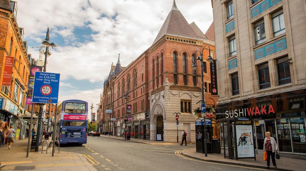Centro de la ciudad de Leeds
