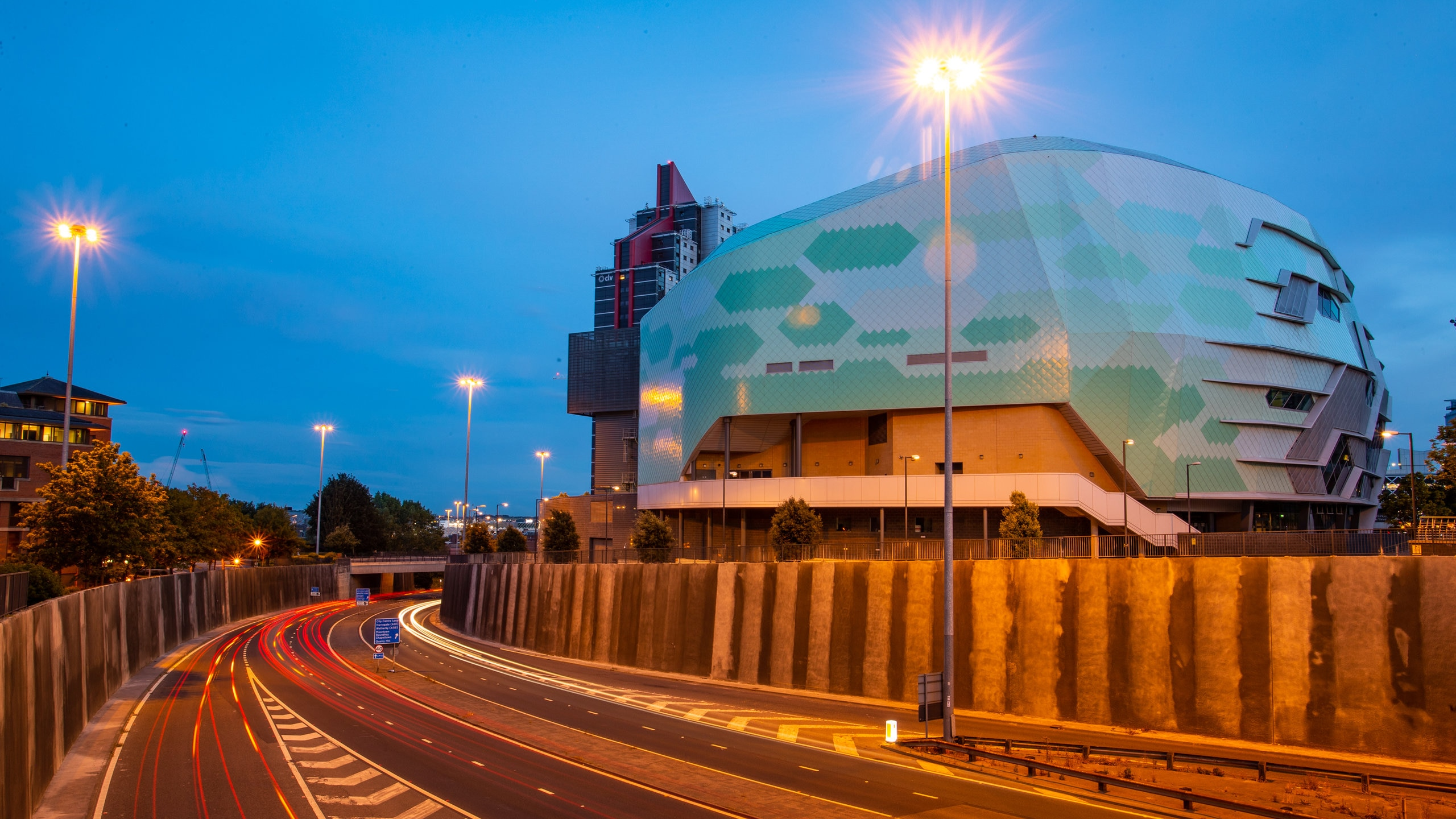 Its honeycombed exterior glowing like a beacon at night, Leeds' modern music venue draws crowds nightly to its shows featuring local and international stars.