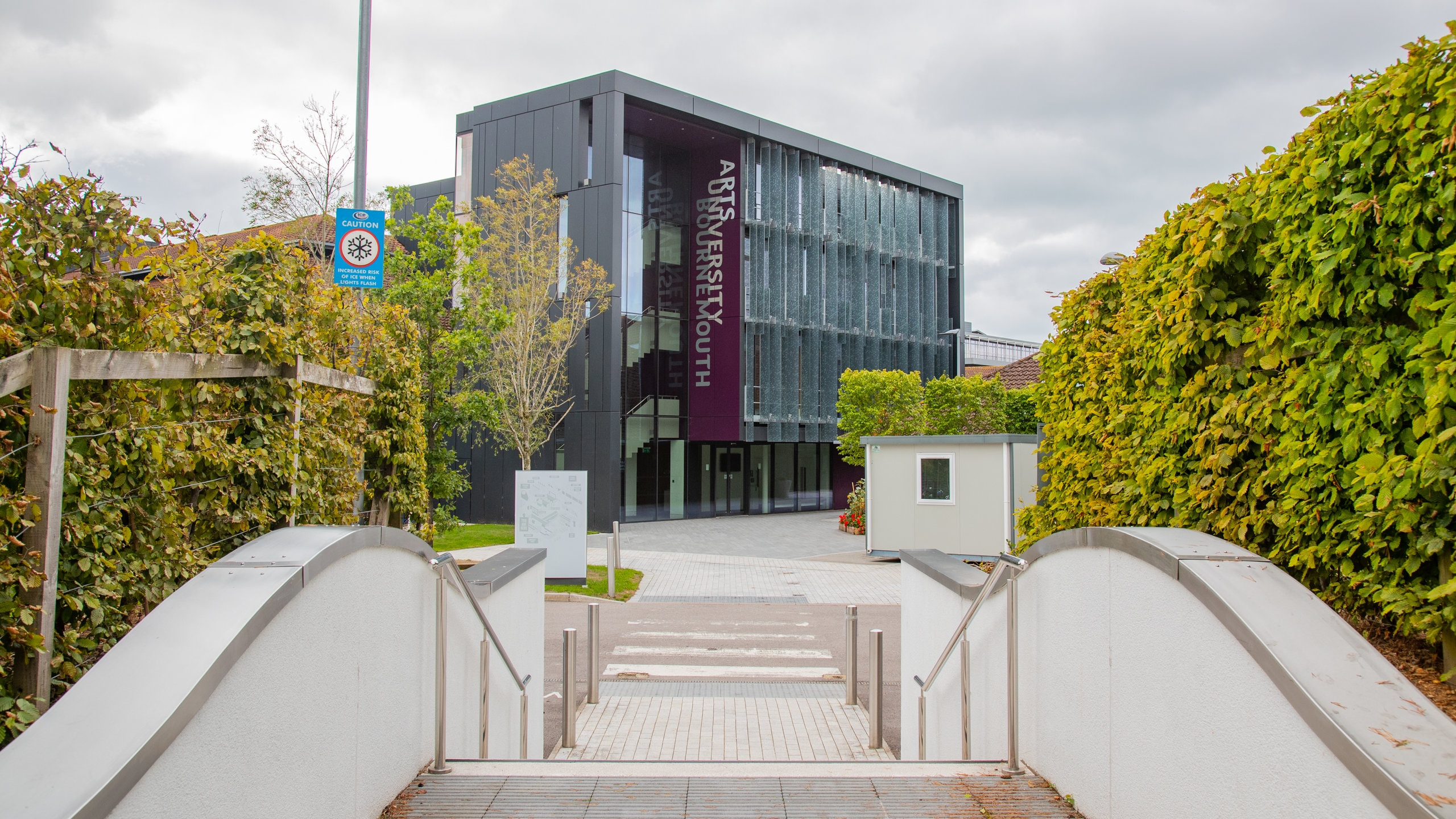 """Best known for its media programs that have trained Oscar winners, one of the U.K.'s """"new universities"""" straddles Bournemouth with two campuses."""