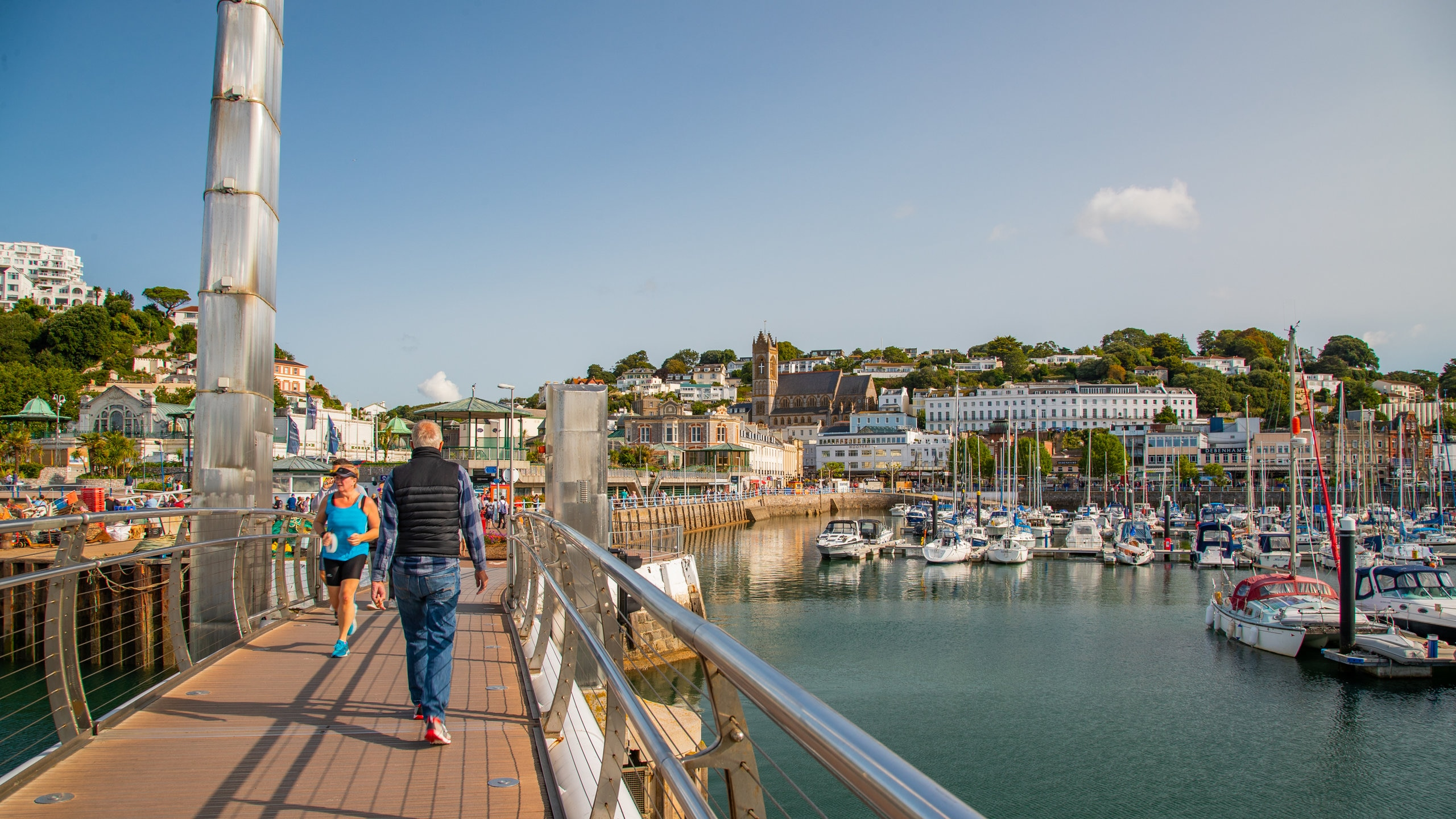 Admire the beautiful yachts moored in this picturesque harbor, which sits within easy walking distance of many of Torquay's main attractions.