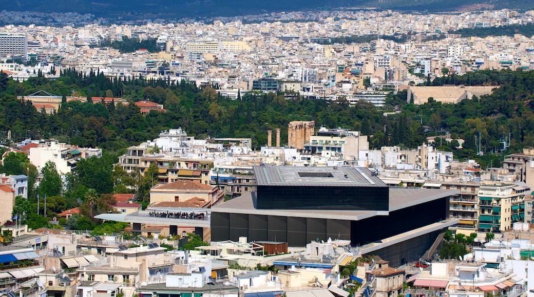 Acropolis Museum showing cbd